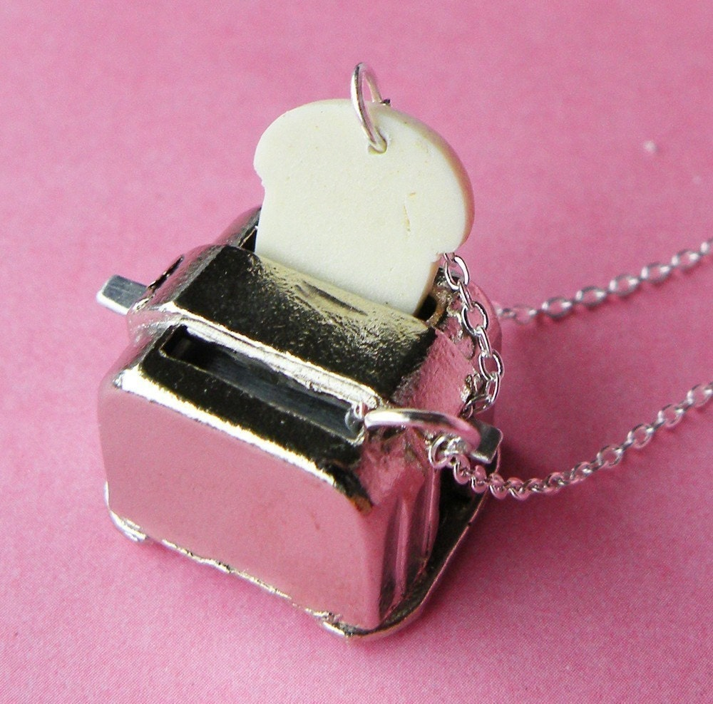 TOASTER - Silver-plated necklace