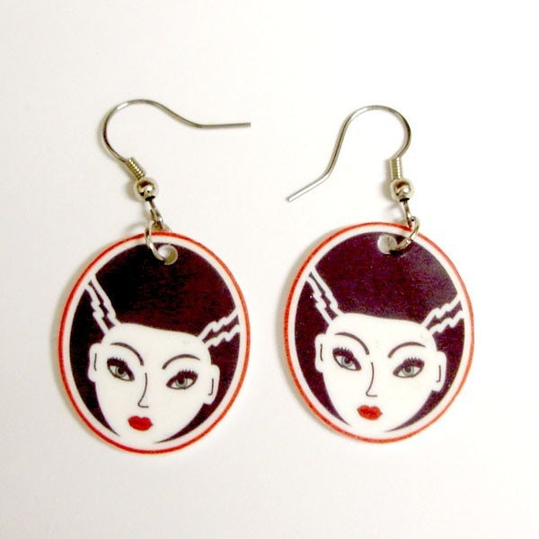 FrankenBride Earrings