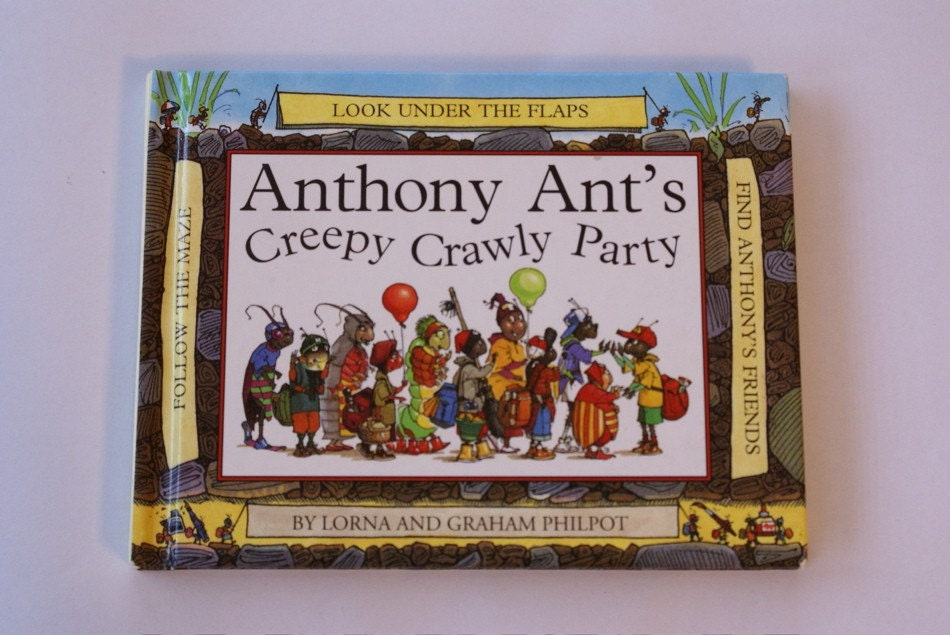 Anthony Ant's Creepy Crawly Party  journal/sketch book