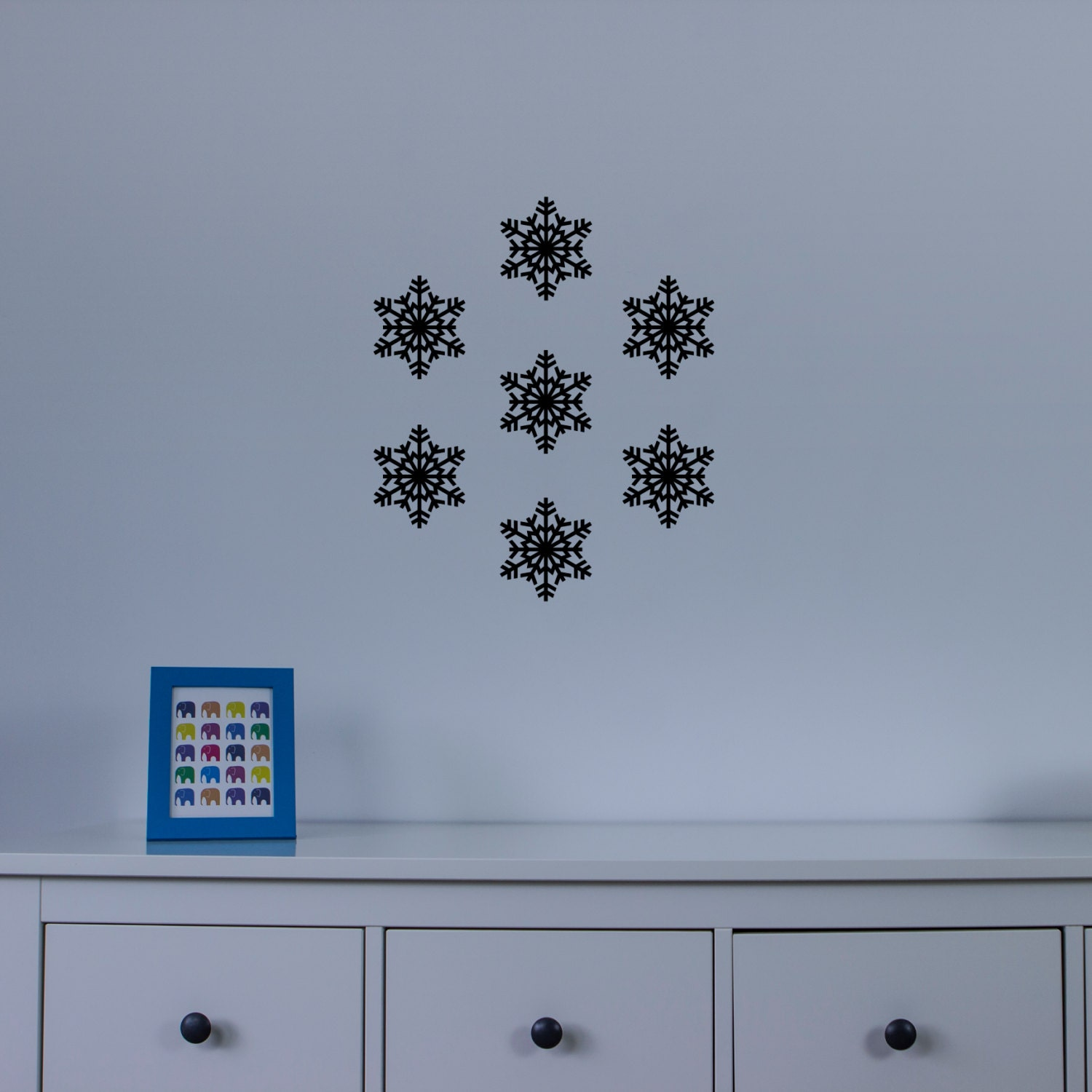 Snowflake Two Wall Art Decal Pack