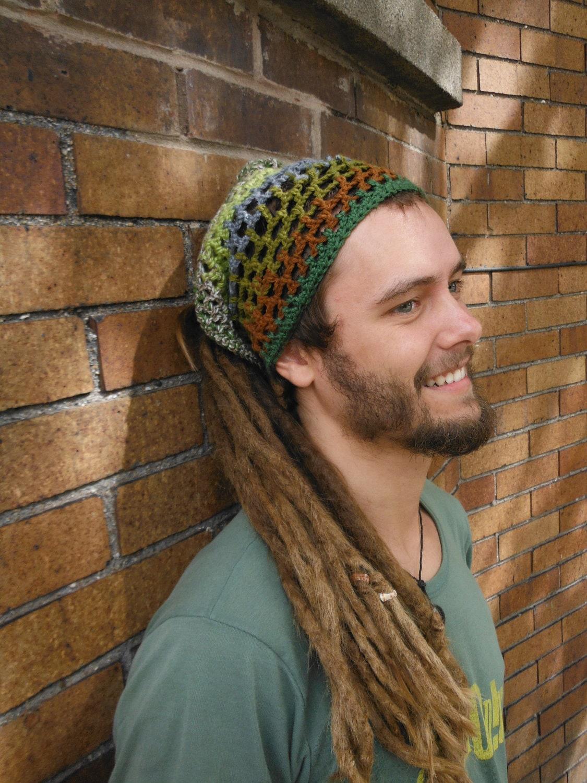 Snap Crochet Dreads Hat Etsy Photos On Pinterest