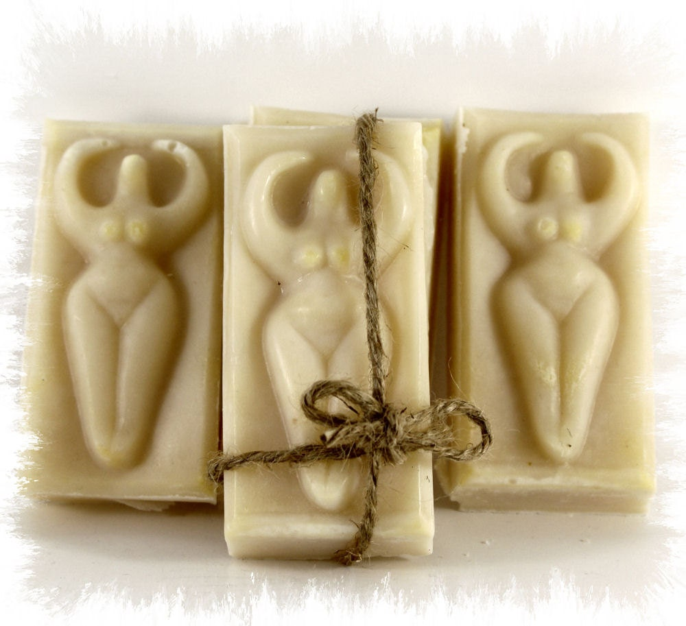 All Natural Ylang Ylang & Vitamin E Mother/Goddess 1 Bar Cold Process Soap