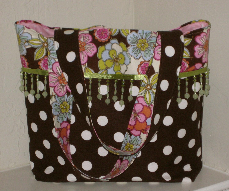 Floral-Dot Bag
