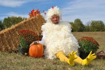 Adult Halloween Custom Chicken Costume Mens/ladies Sizes Small/Medium/Large/XLarge
