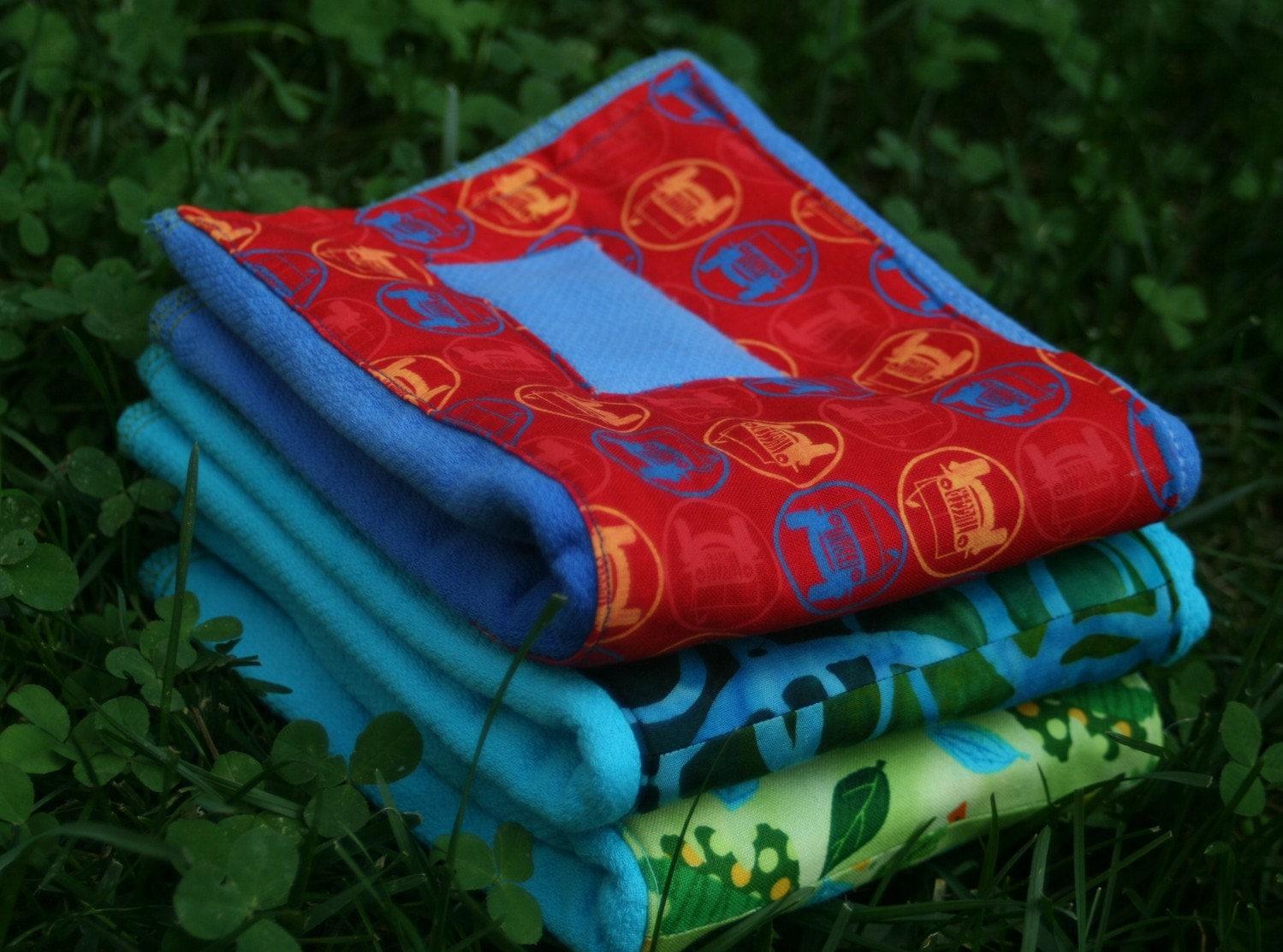 Embellished Prefold Diaper - Vrooom