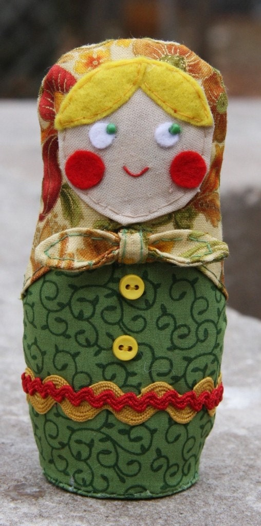 Matryoshka Russian doll Lida