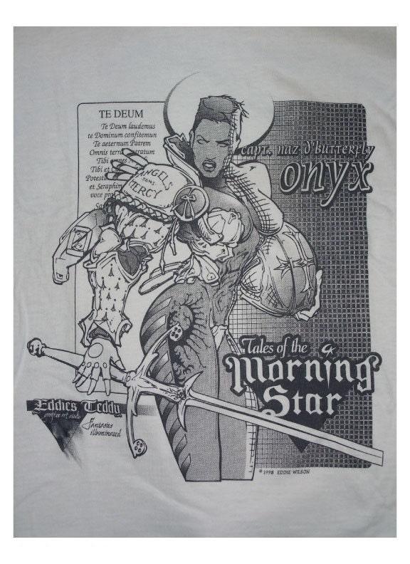 Tales of the Morning Star Onyx Armour tshirt XXXL