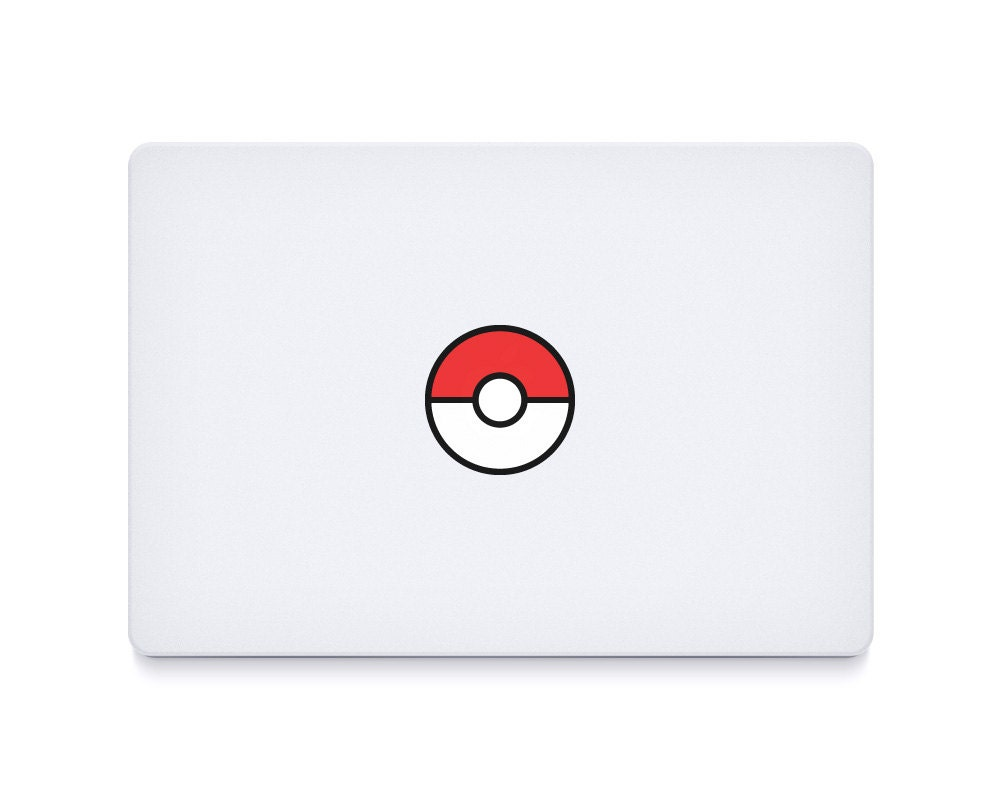 2x Pokemon Go Pokeball MacBook MacBook Pro laptop vinyl sticker decal