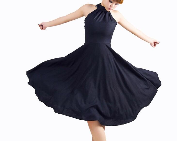 سیاه و سفید شب لباس PROM (MM07)