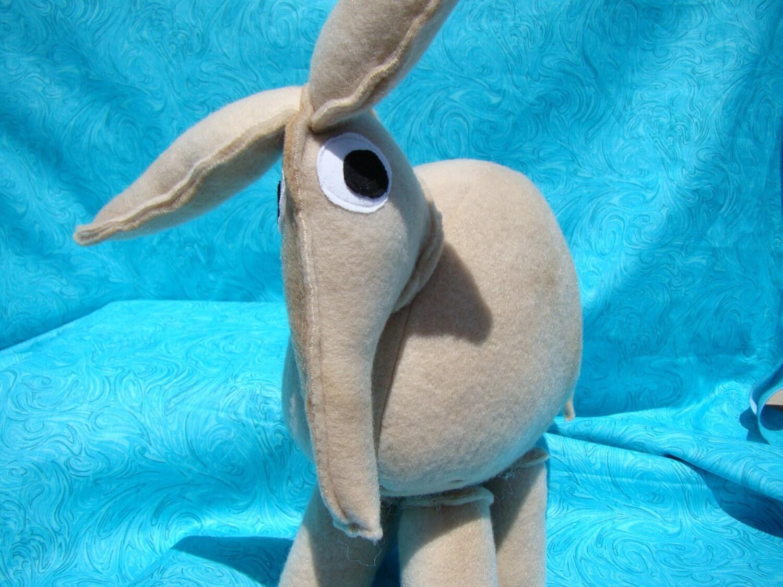 Avery the Aardvark Plush Toy