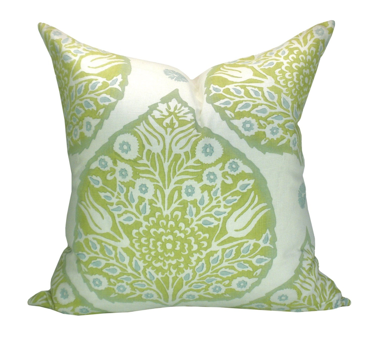 Modern Lotus Pillow : Galbraith & Paul Lotus pillow cover in Sprout by sparkmodern