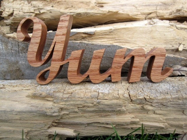 YUM - Wooden Word