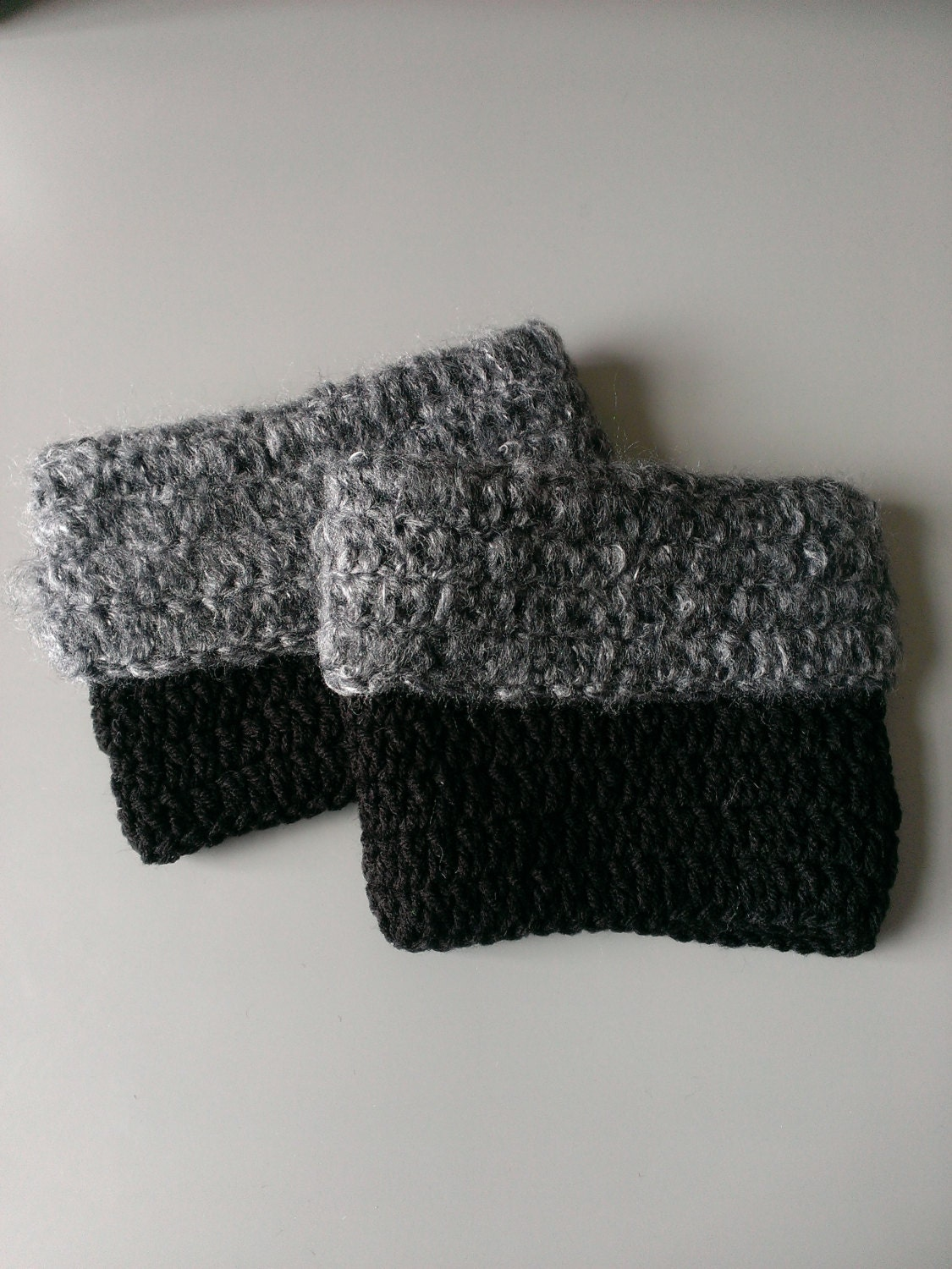 CROCHET PATTERN Fuzzy Boot Toppers P10 by TheSteadyHand on ...