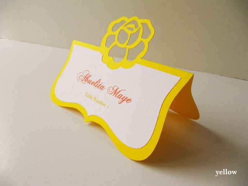 How to make these escort cards?? | Weddingbee Photo Gallery