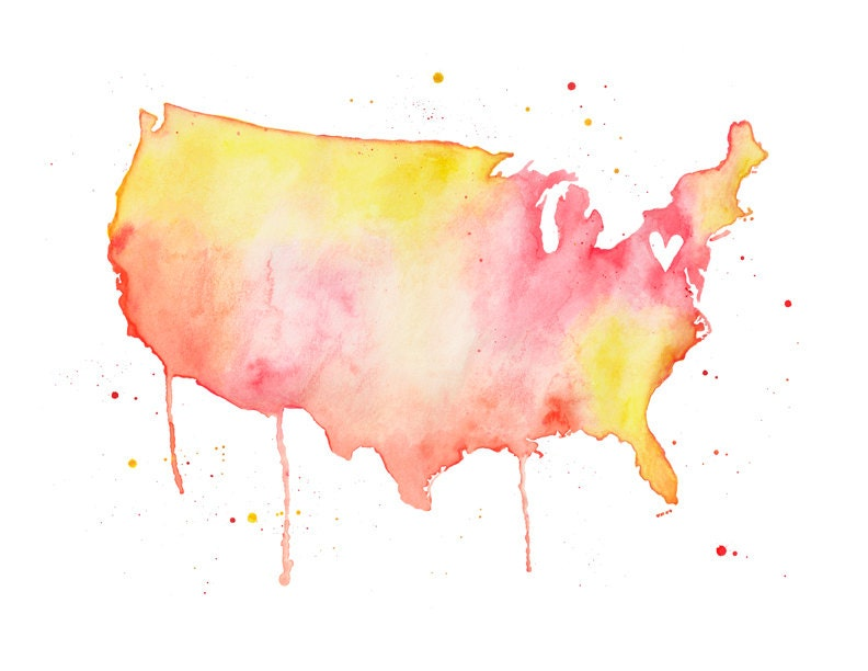 United States Love - poppyandpinecone