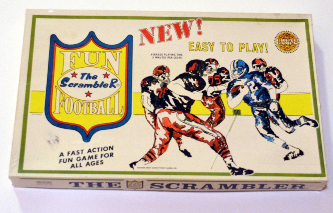 Vintage Football Board Games 48