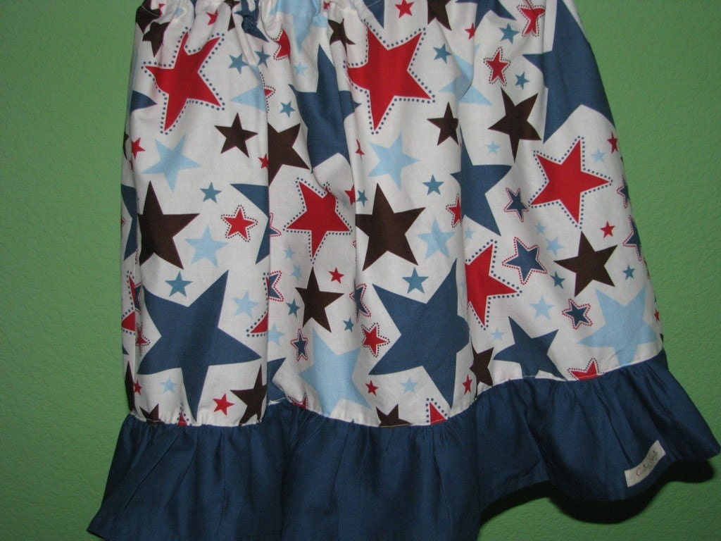 JUNE Skirt of the Month - GREAT PRICE - All Star Twirl Skirt - sizes newborn - Girls 8
