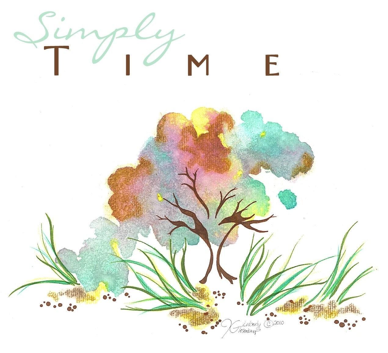 Simply Time Art Print