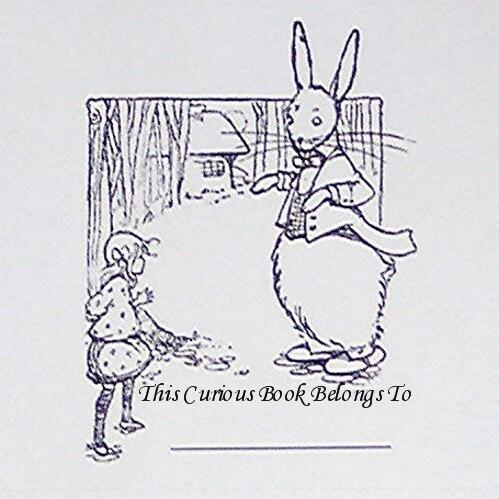 Alice In Wonderland Bookplates