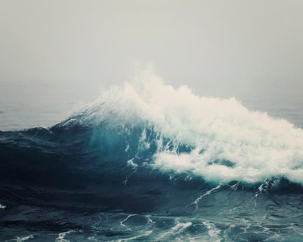 Sea Wave Nautical Photography Ocean Wave Dark Blue by ...