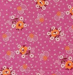 Denyse Schmidt Wall Flower Wallflower in Fiesta  - DS04 - Hope Valley - 1 yd - SALE