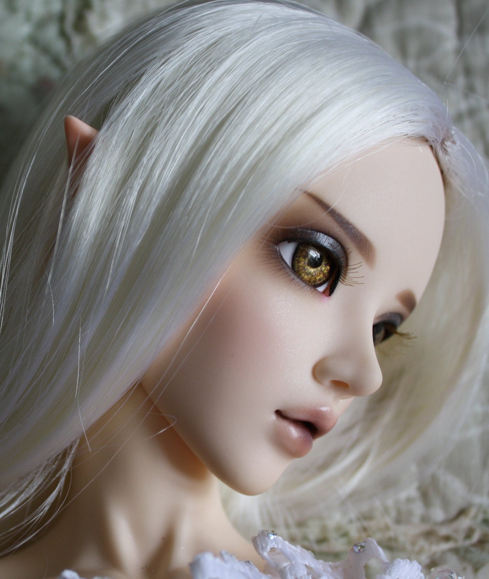 BJD eyes Doll eyes Hand made available in 12141618202224mm Lyras Gold made to order