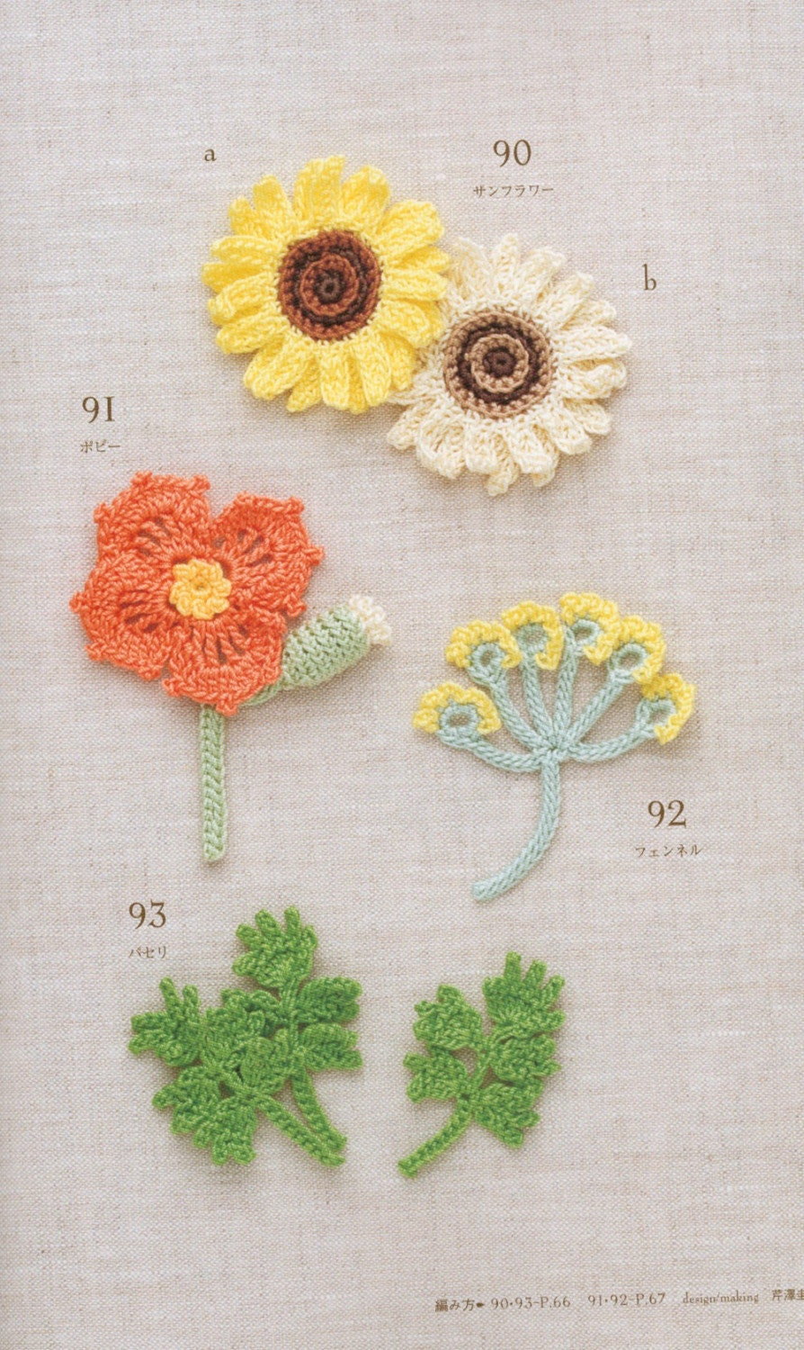 Crochet Mini Motif 100- Japanese Crochet Craft Book