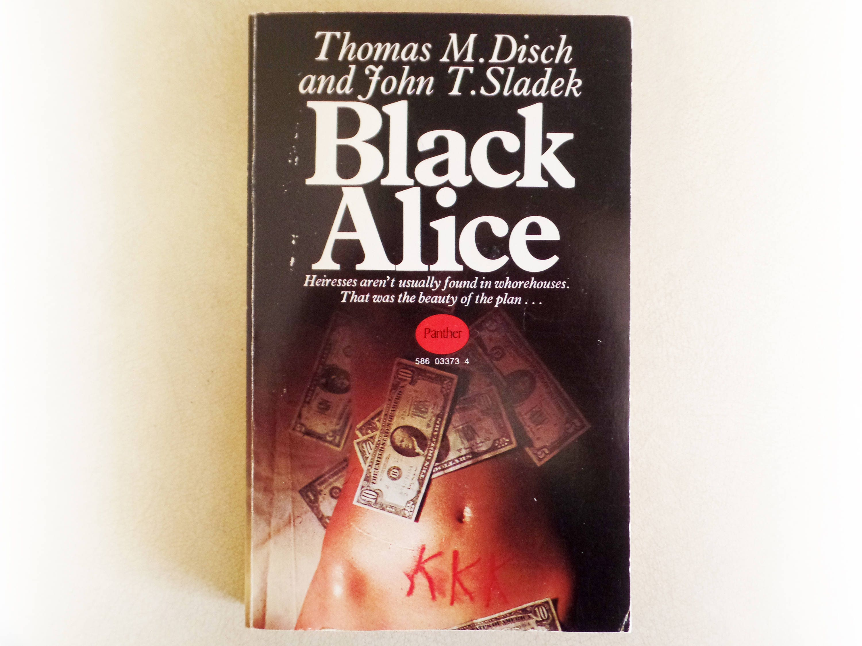 Thomas M Disch  Black Alice  Panther vintage paperback book  1970
