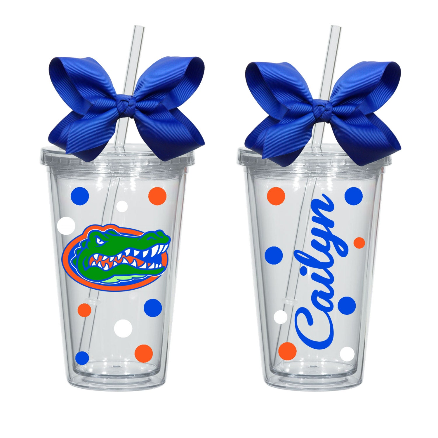 Florida Gators Inspired 16oz Acrylic Tumbler