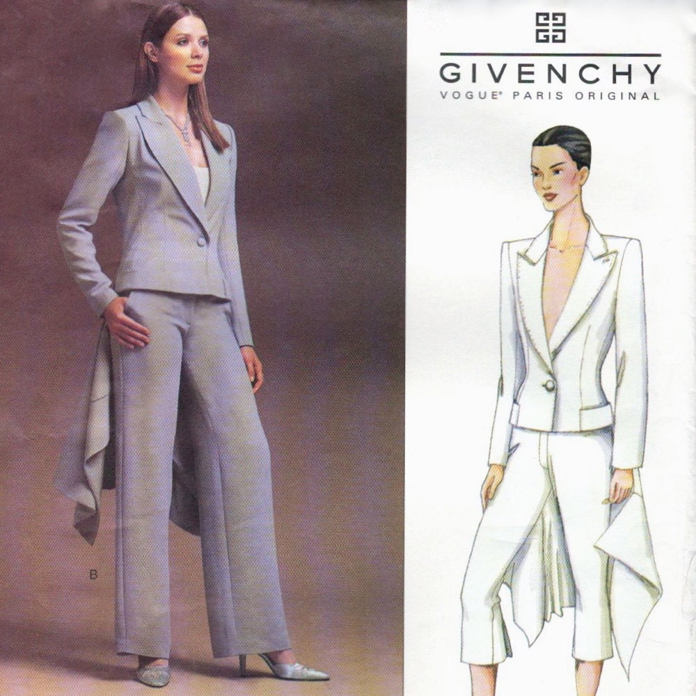 Givenchy by Alexander McQueen pattern, Vogue 2486