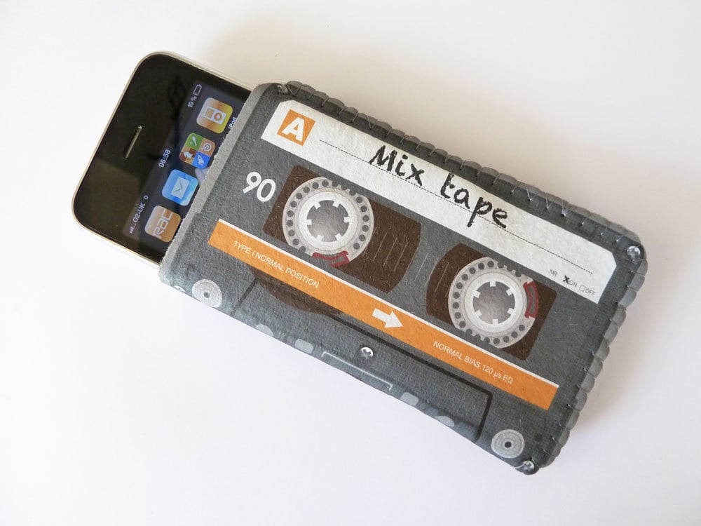 Mix Cassette Tape iPhone Case