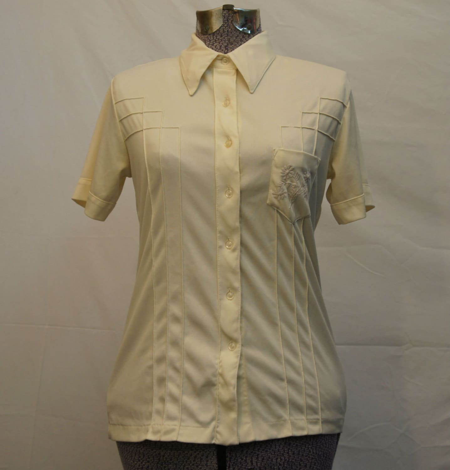 Women's Vintage Button-up by K- Mart Size 34