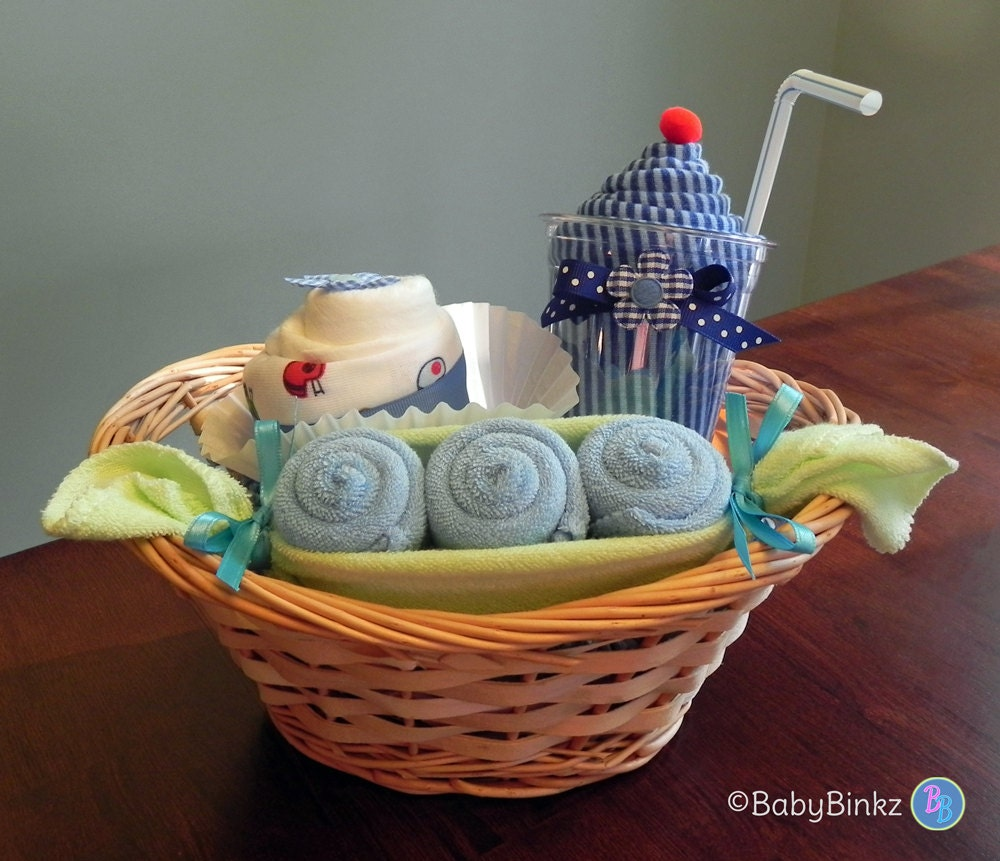 Unique Child Gift Ideas : Babybinkz gift basket unique baby shower or by