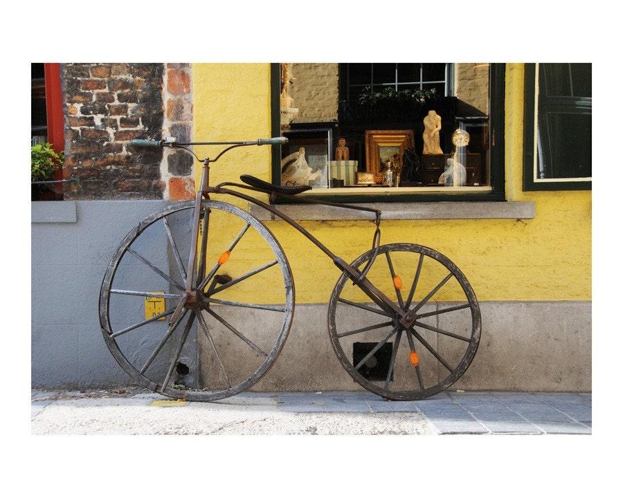 vintage bicycle - 10x8 original fine art photographic print