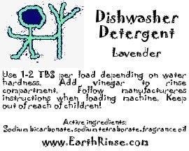 Lavender Scented Natural Homemade Dishwasher Detergent Soap 37 70 loads