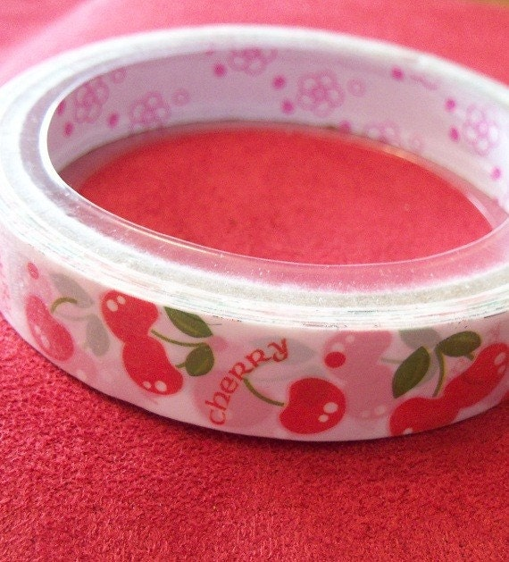 Yummy Cherries Kawaii 15m decotape