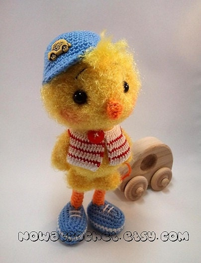 Chicken Tim amigurumi PDF crochet pattern by Nowacrochet ...