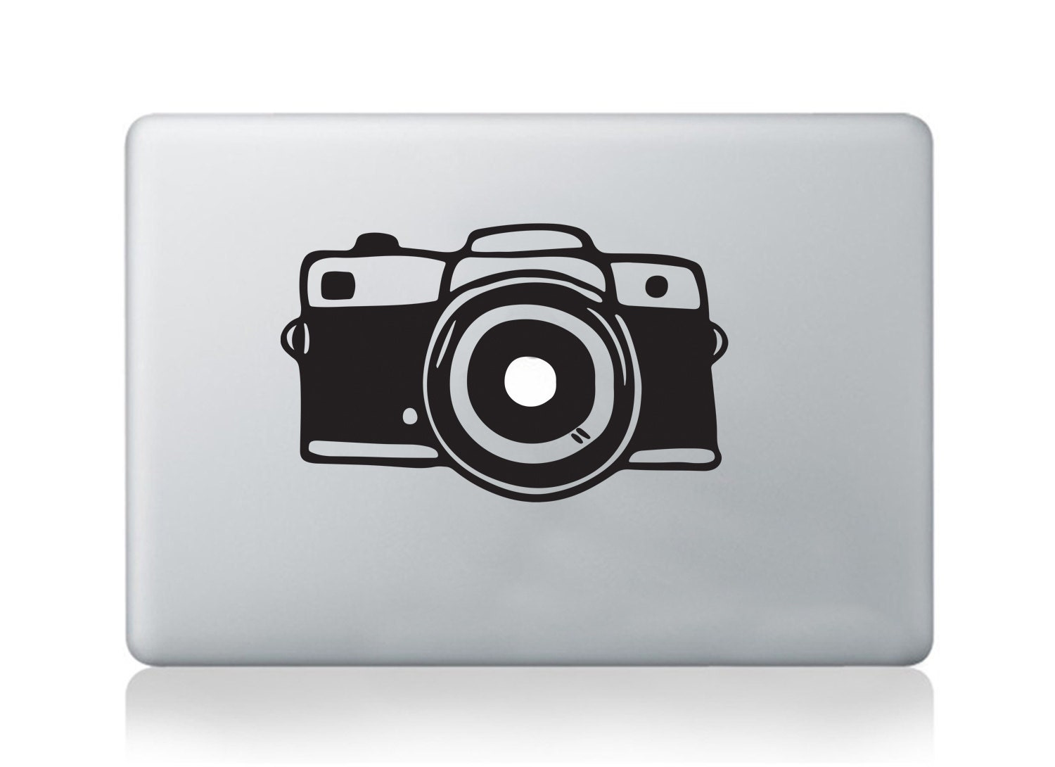Photo camera macbook decal pro air vinyl nikon canon sticker DSLR decal transfer graphic laptop notebook skin Asus HP Toshiba Dell decal