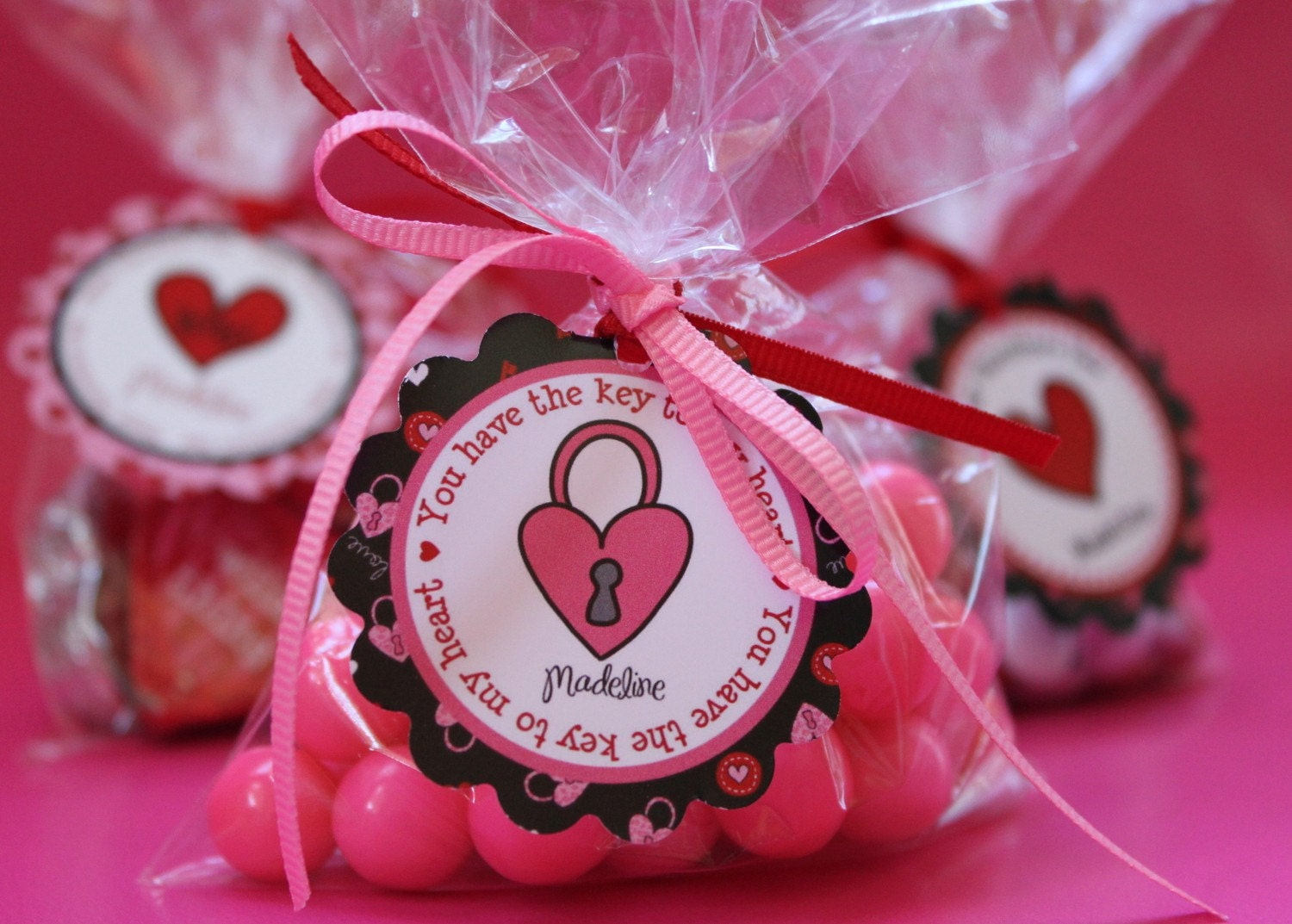 Valentine Party Package Personalized DIY by partypapercreations