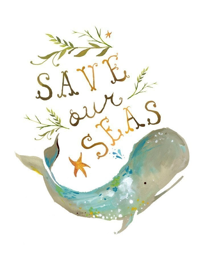 Save Our Seas - 1/2 of the proceeds go to NWF's Oil Spill Cleanup
