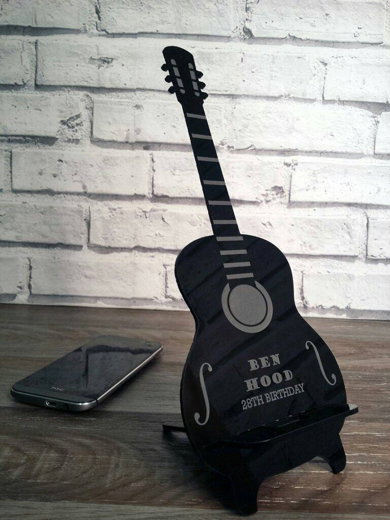 Guitar Mobile Phone Holder Music Fan Guitar Phone Accessories (00205)