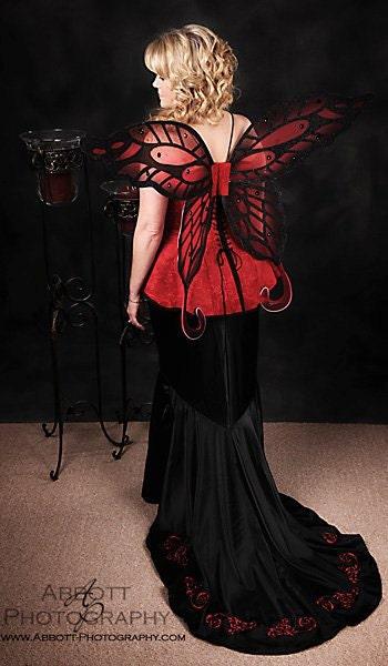 Items Similar To Renaissance Gothic Victorian Fairy Vampire Mardi Gras Wedding Dress Gown On Etsy