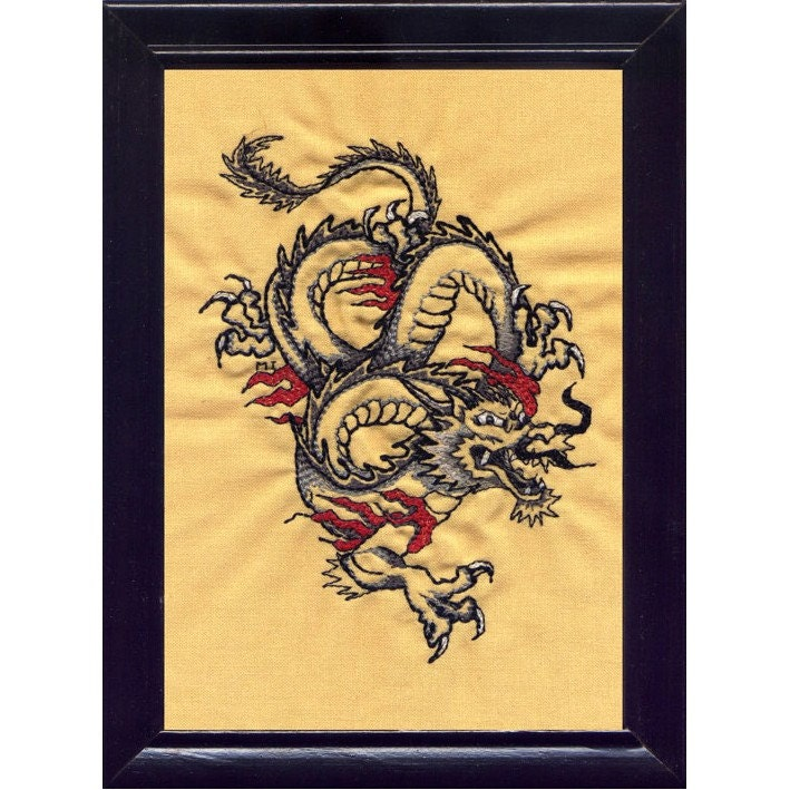 Free Dragon Tattoo Flash