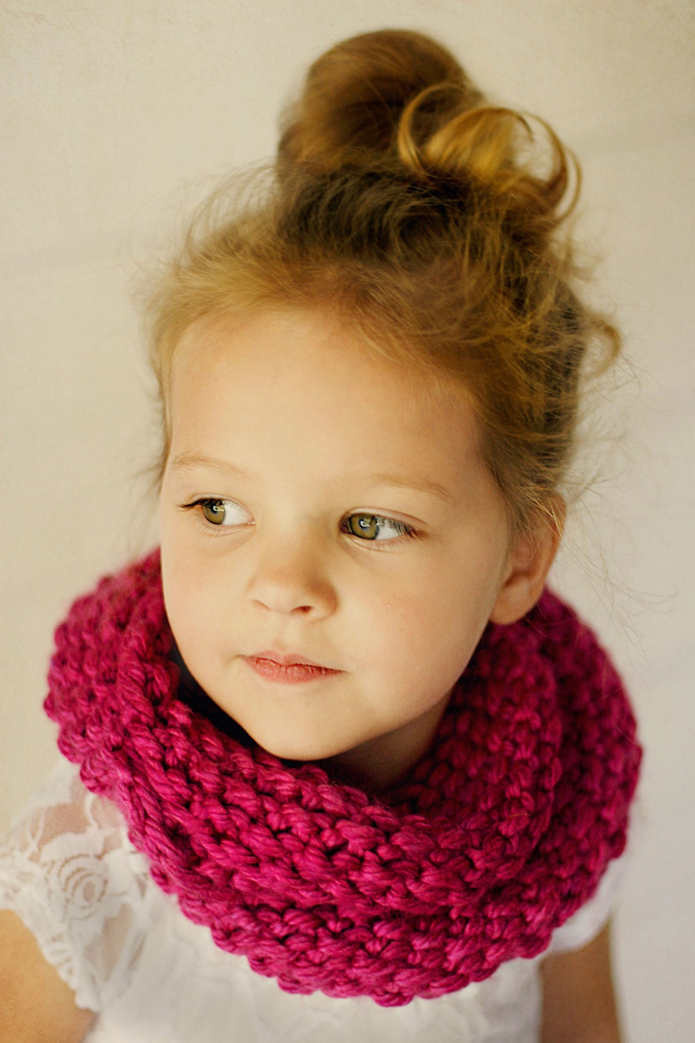 Knitting Pattern Child Infinity Scarf : Popular items for child infinity scarf on Etsy