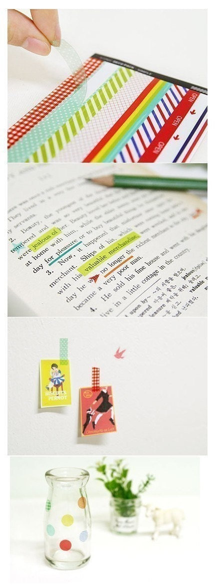 Diary Simply Deco Sticker - 10 sheets