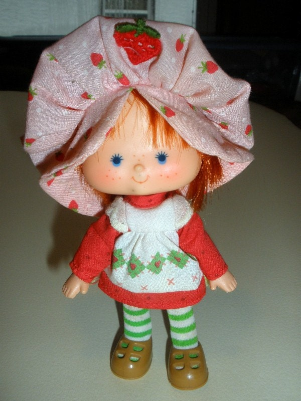 Vintage Strawberry Shortcake Doll By Bagofspiders On Etsy