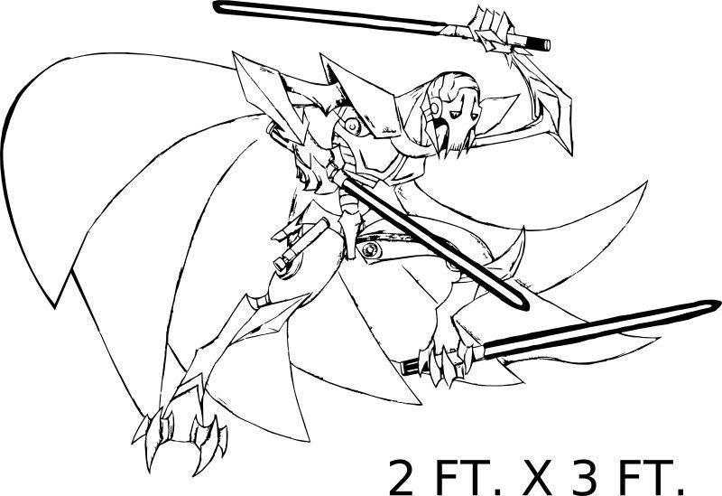 star wars coloring pages grievous - photo#22