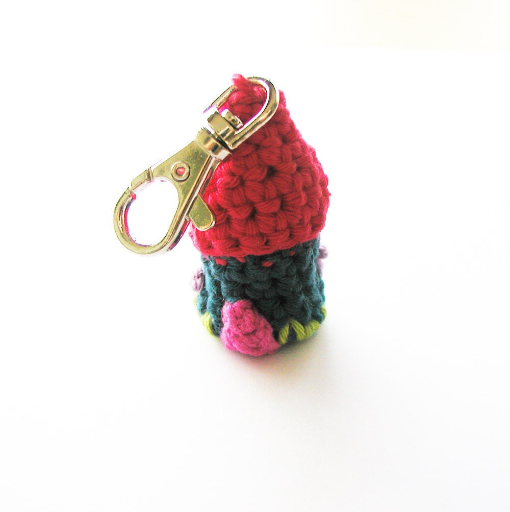 Crochet Keychain : Crochet House Keychain Pattern English and by annemariesbreiblog ...
