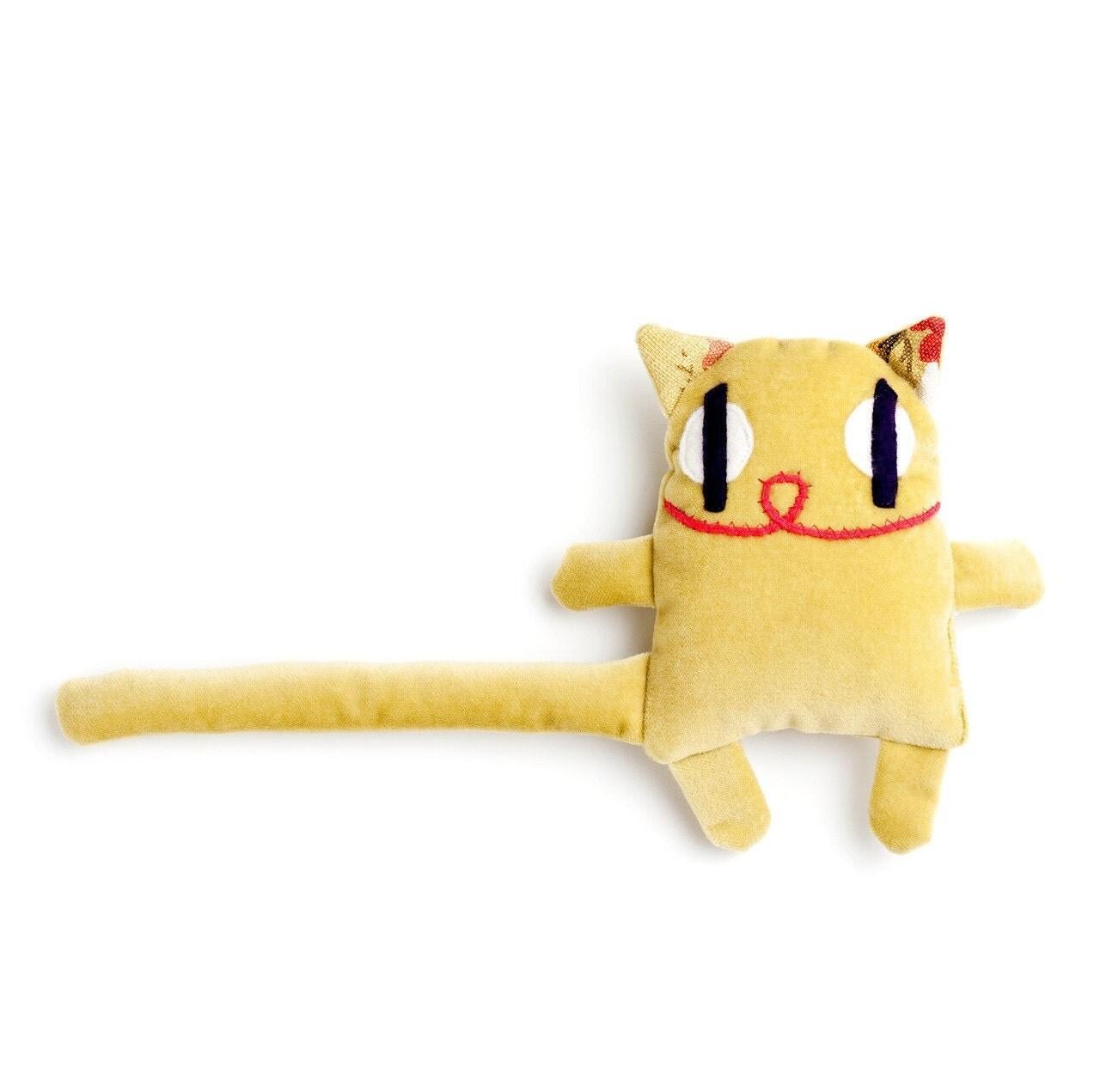 handmade cat plush