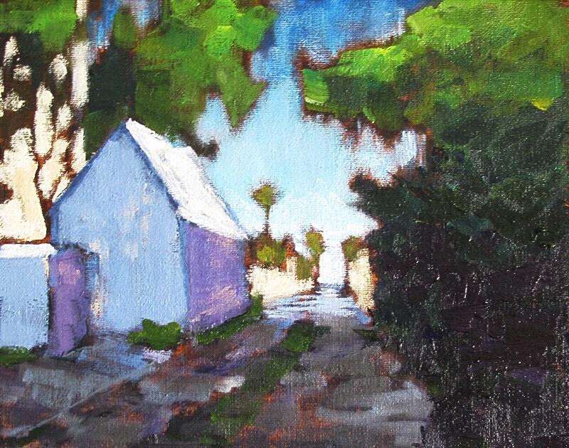 Hillcrest San Diego Pride Original Oil Painting